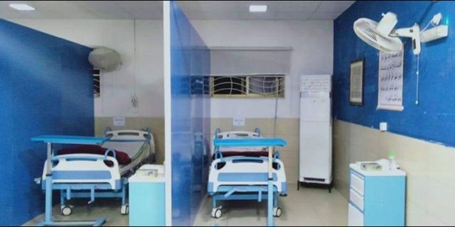 Punjab government established corona isolation wards in 21 private hospitals