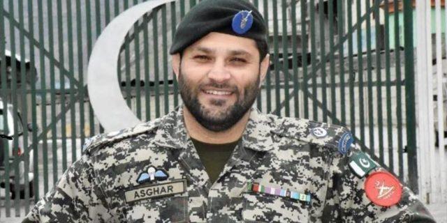 Pak Army Major Muhammad Asghar